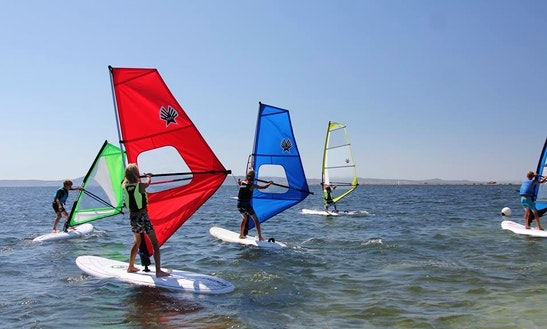 Wind Surfer Rental & Training In Giba, Italy