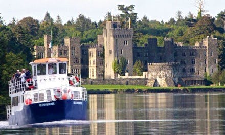 """Canal Boat  """"M.V. Isle Of Inisfree"""" Cruises in Oughterard, Ireland"""