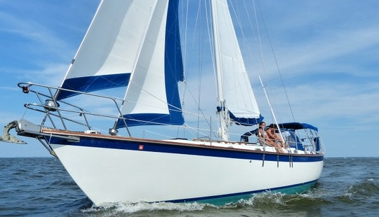 38ft Liberty Cutter Sailboat Charter In Annapolis, Maryland