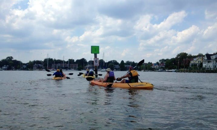 Guided Ocean Kayak Tours in Annapolis, Maryland