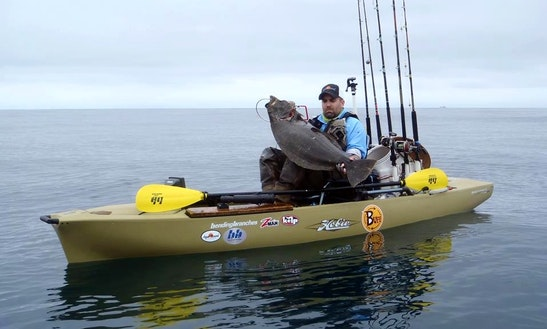 Kayak Fishing With Capt Wade In San Diego