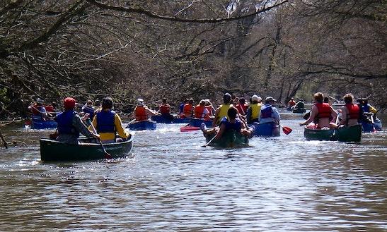 Tandem Canoe Rental On Antietam Creek