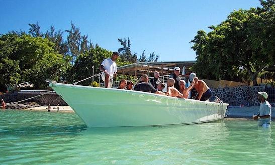 Dive Boat  In  Mauritius
