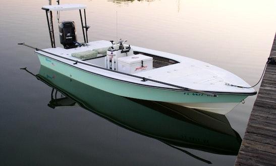 Tampa Bay Fishing Trip On 18' Maverick Flats Boat With Captain Dan