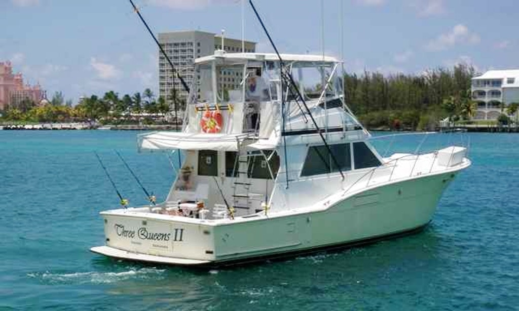 46 39 three queens ii fishing boat in nassau bahamas for Nassau fishing charters