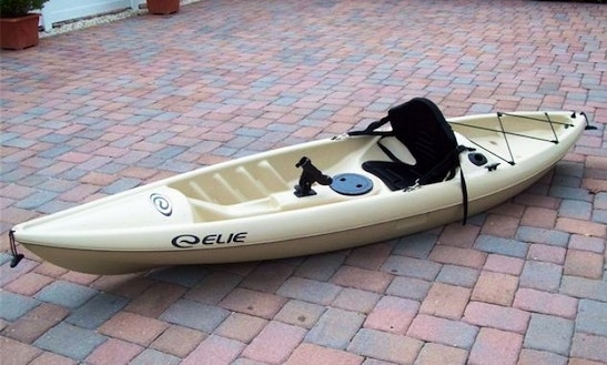 Single Sit-on-top Kayak For Hire In Auckland
