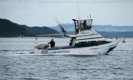 Auckland Fishing Charter On 'mv Elusive' Stabicraft Yacht With Shay