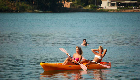 Rent A Tandem Canoe In Kerkira, Greece!