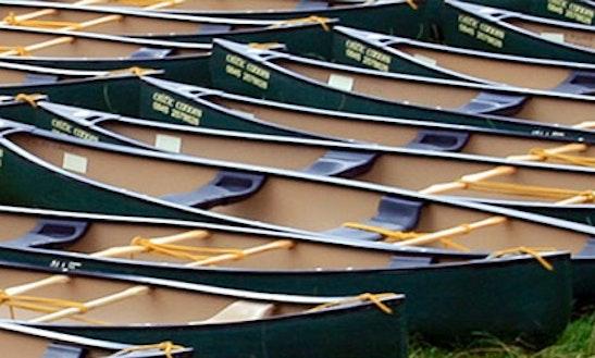 Explore The Glasbury, United Kingdom On A 2 Seater Canoe