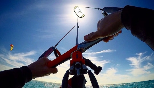 Kiteboarding Lesson With Iko Certified Instructor In Tarifa, Spain