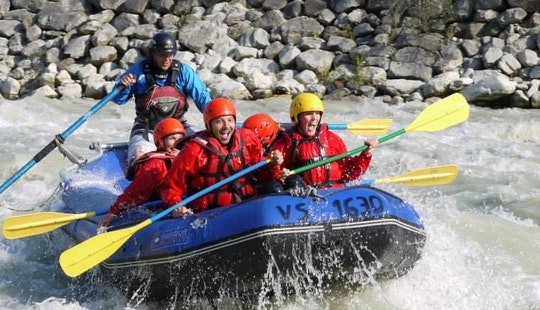 Rafting In Sion, Switzerland