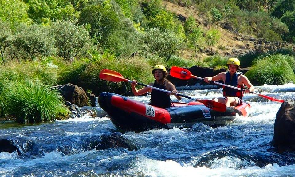 Canoe-Rafting in Portugal