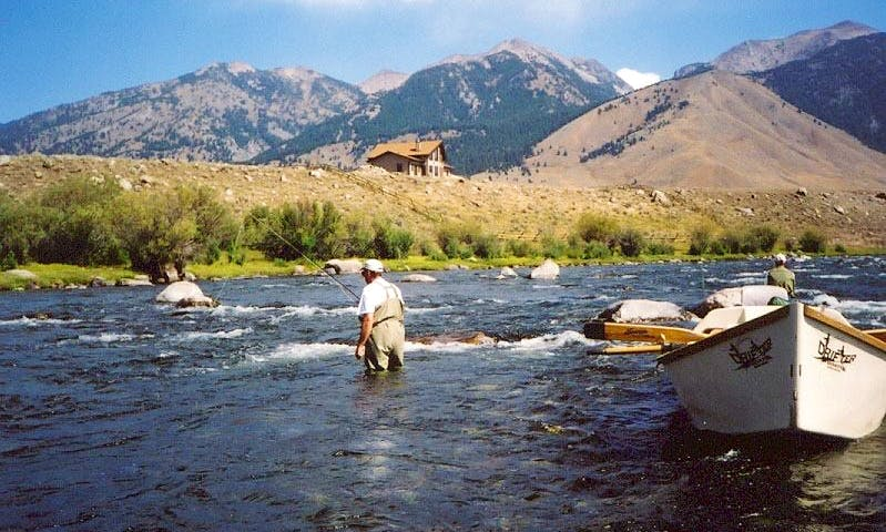 Deluxe Guided Fly Fishing Vacation In Dillon, Montana