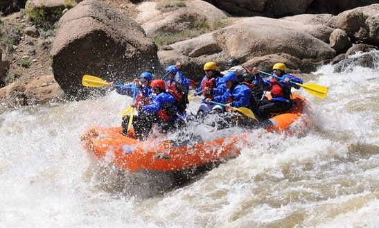 Whitewater Rafting Tour In Salida