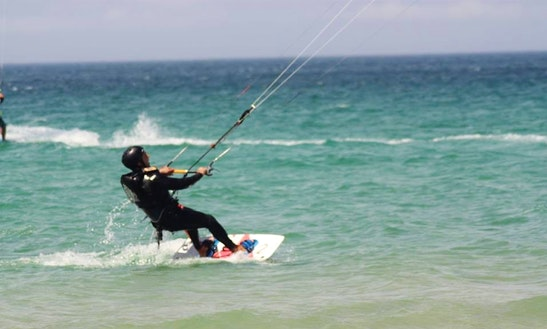 Kitesurfing In Tarifa, Spain