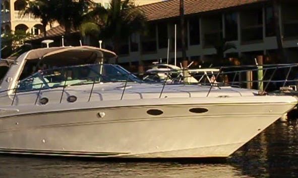 "40' Sea Ray Sundancer Motor Yacht ""Life Is Good"" Charter in Fort Lauderdale"