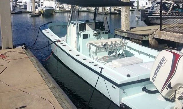 Enjoy 31' Center Console Fishing Charters in Fort Lauderdale, FL