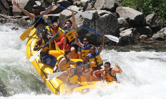 Rafting Trips In Lotus, California