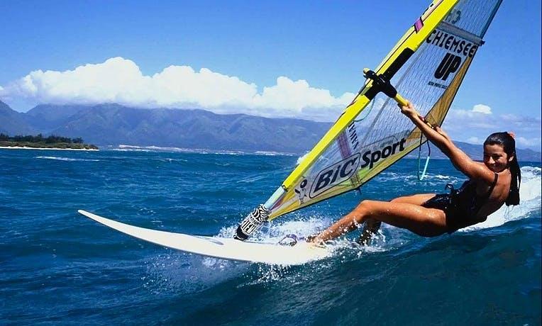 Wind Surfer Lesson In Sochi