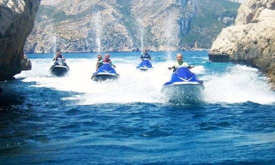 Jet Ski Excursions To Cabo La Nao In Teulada