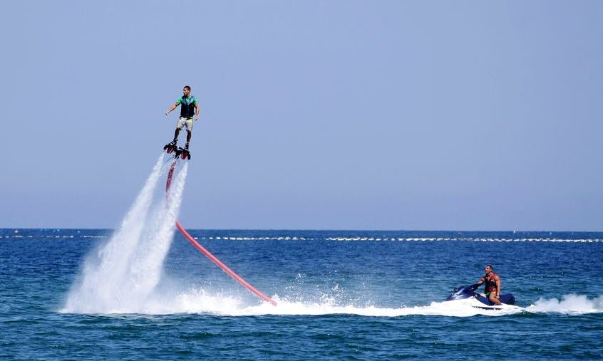 Extreme Flyboard Adventure that you must try in Denia, Spain