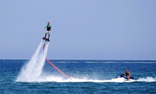 Flyboard In Denia, Spain