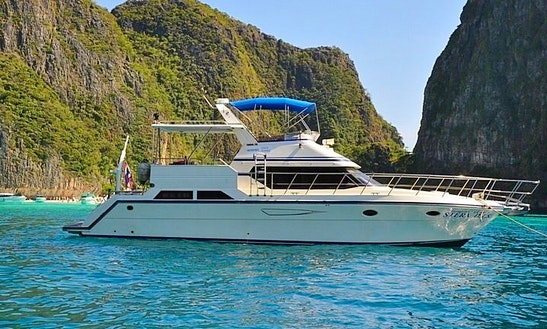 Yamaha 50 Ft Pleasure Yacht, Chalong, Phuket