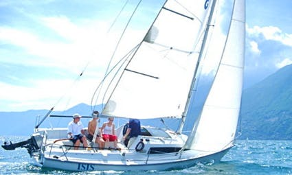 6 Person Daysailer Bareboat Rental in Ascona, Switzerland
