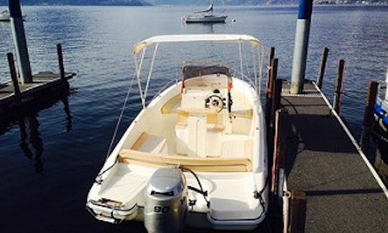 Fiart 20 Deck Boat Rental & Trips In Ascona, Switzerland
