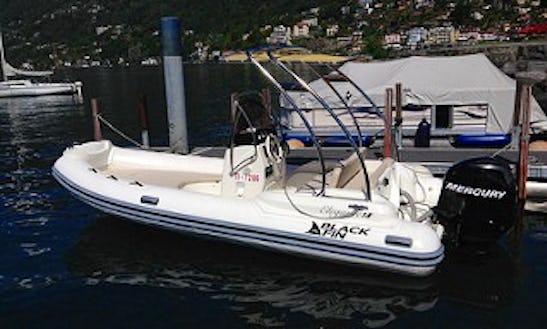 Black Fin 18 Rib Rental & Trips In Ascona, Switzerland