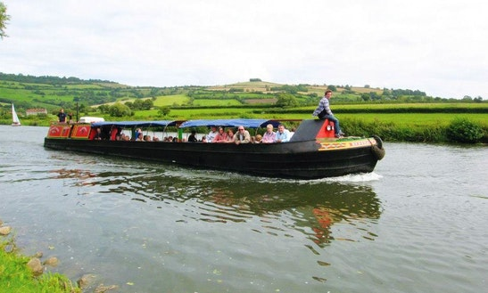 'narrowboat Redshank' Canal Boat Trips & Hire In Bristol