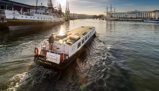'the Flower Of Bristol' Canal Boat Trips & Private Hire In Bristol