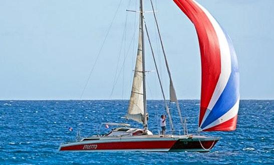 45' Cruising Catamaran Cruises In Bridgetown, Barbados