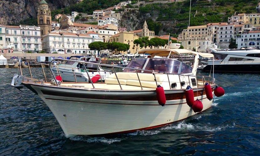 Fratelli Aprea 32 Semicruiser Boat Tour In Salerno