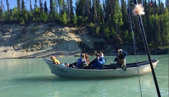 17ft Drift Boat Charter In Cooper Landing, Alaska
