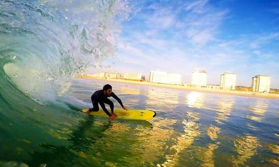 Surf Lessons In Costa Da Caparica