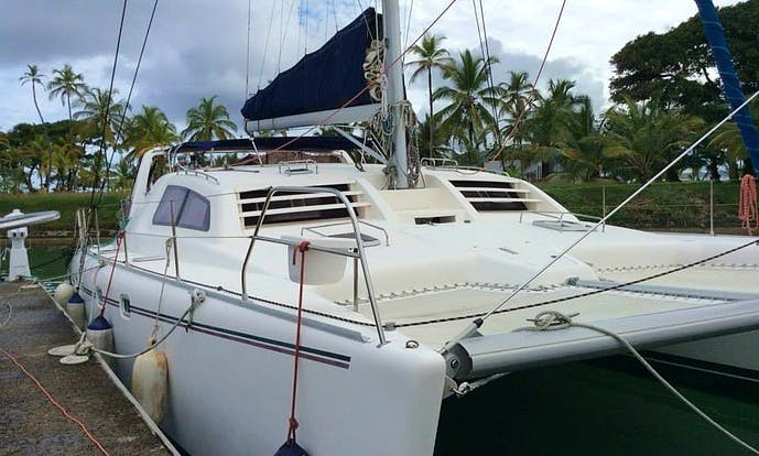 "Captained Charter on 47ft ""Victoria"" Leopard Catamaran in San Blas Islands"