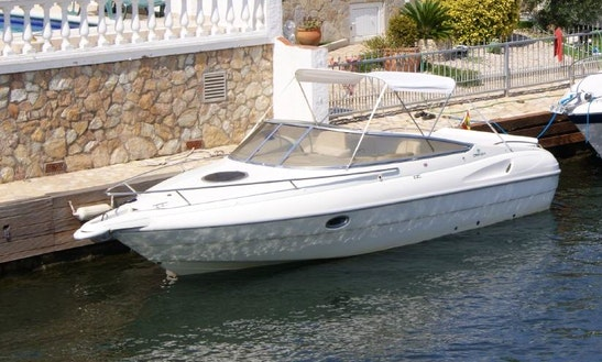 Rent Cranchi Turchese 24 Yacht In Ampuriabrava