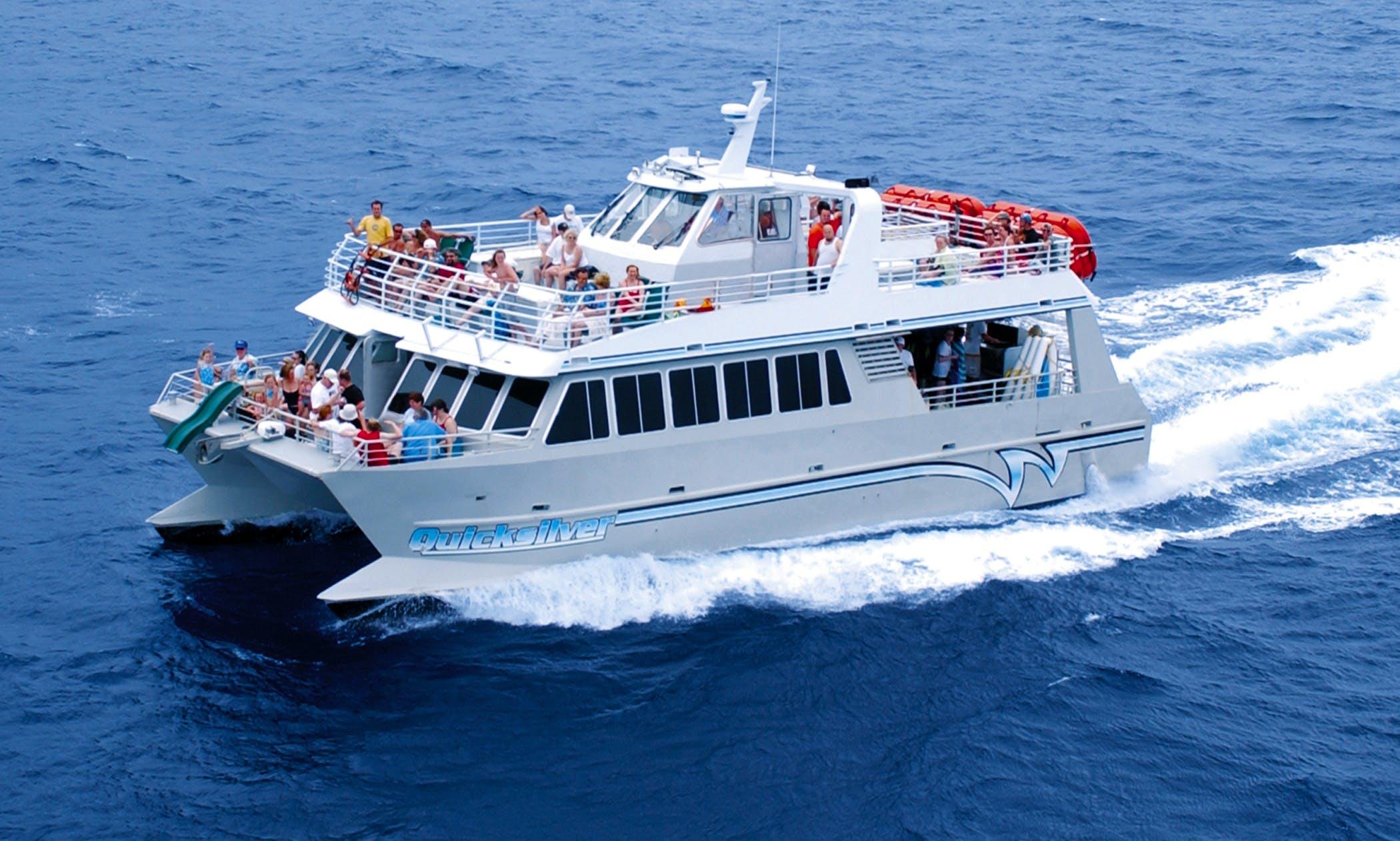 Charter Power Catamaran In Wailuku, Hawaii