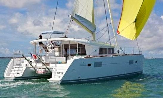Charter Lagoon 400 Catamaran In Olbia
