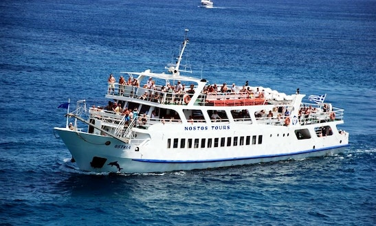 'm/v Ostria' Boat Day Cruises In Lasithi