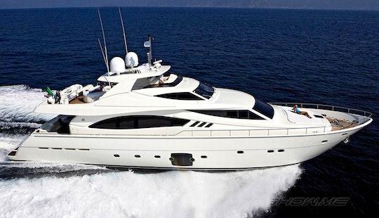 Ferretti 881 Rph Mega Yacht Charter In Muiden