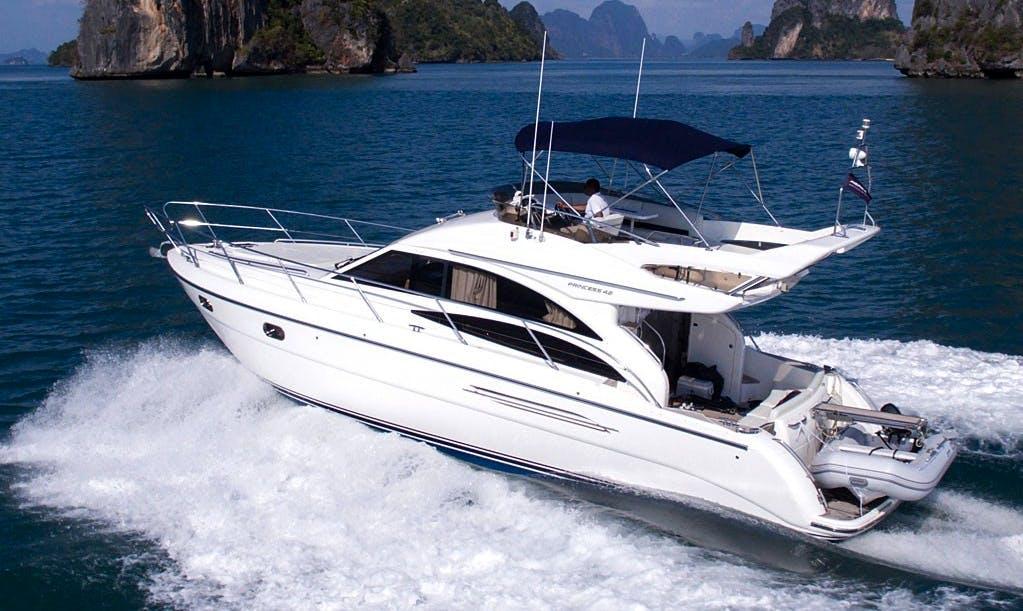 Enjoy Princess P42 Motor Yacht  in Pattaya