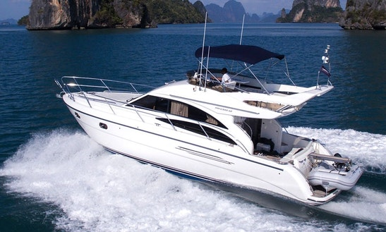 Enjoy Princess P42 Motor Yacht  In Pattaya
