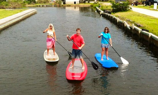 Sup Tour In Hatteras