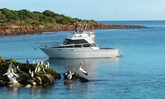 29' Fishing Charter In Emu Bay
