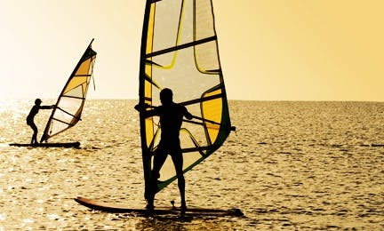 Learn to Wind Surf In Marbella