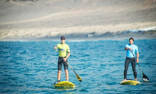 Paddleboard Rental & Lessons In Caleta De Famara, Spain