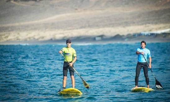 Paddleboard Rental & Lessons In Caleta De Famara, Spain
