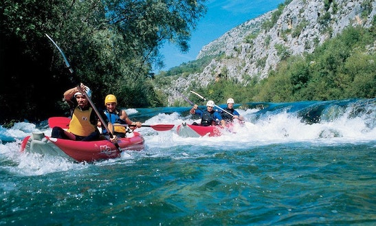 White Water Rafting Trips In The Cetina River